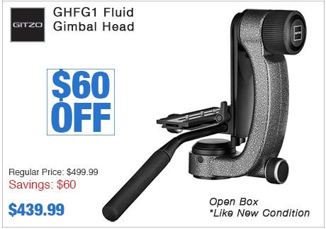 Gitzo GHFG1 Fluid Gimbal Head