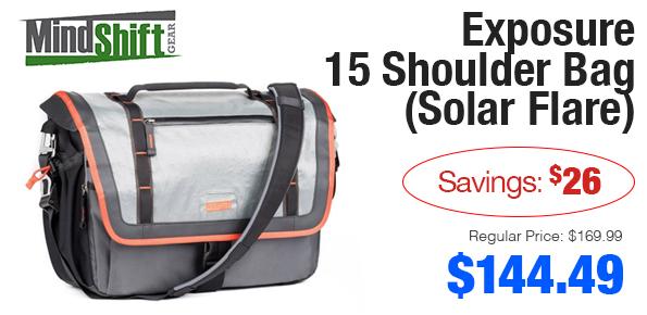 Mindshift Gear 15 Shoulder Bag on Sale!