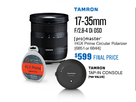 Tamron June Savings!