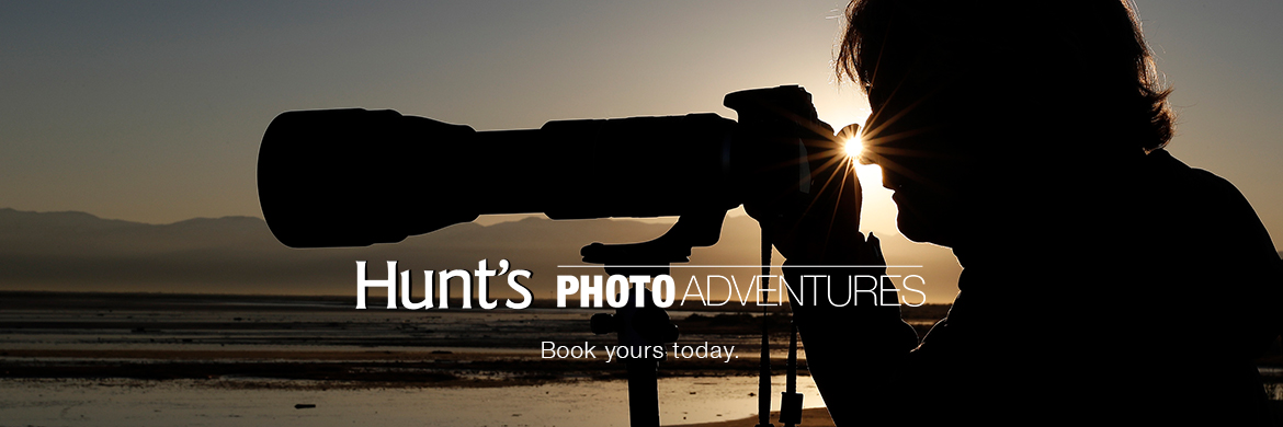 Hunt's Photo Adventures - Sign up today.