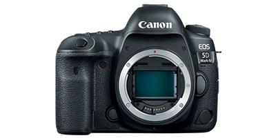 Canon EOS 5D Mark IV DSLR
