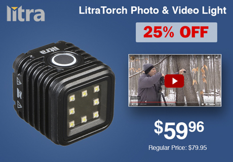 LitraTorch Photo & Video Light