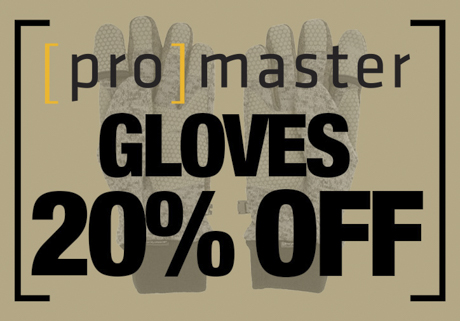 Promaster Gloves on Sale
