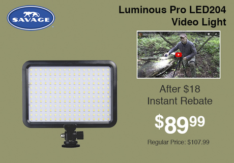 Savage luminous Pro LED204
