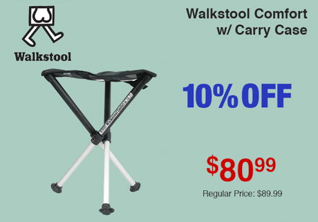 Walkstool Comfort w/ Carry Case