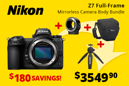 Nikon Z7 Full-Frame Mirrorless Bundle