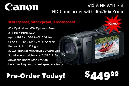 Canon Vixia HF W11 Full HD Camcorder