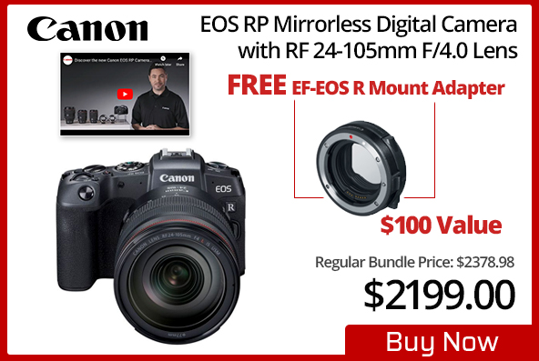 Canon EOS RP Kit with 24-105mm f/4