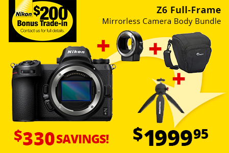 Nikon Z6 Bundle Savings