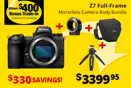 Nikon Z7 Bundle Savings