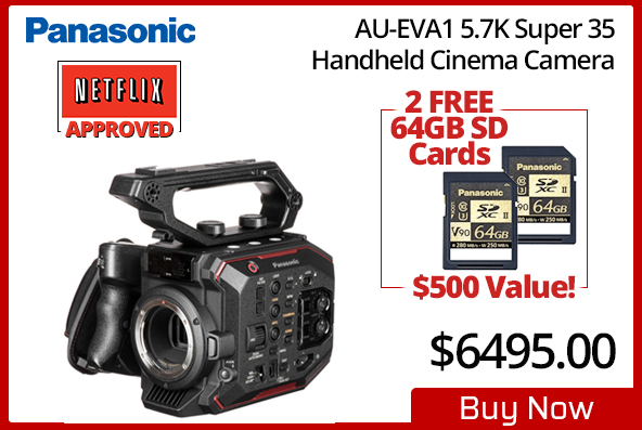 Panasonic EVA Netflix Approved Cinema Camera