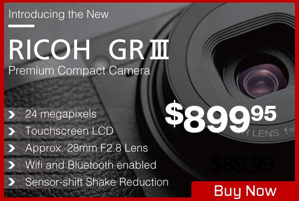 Ricoh GR III Premium Compact Camera