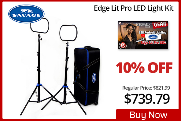 Savage Edge Lit Pro LED