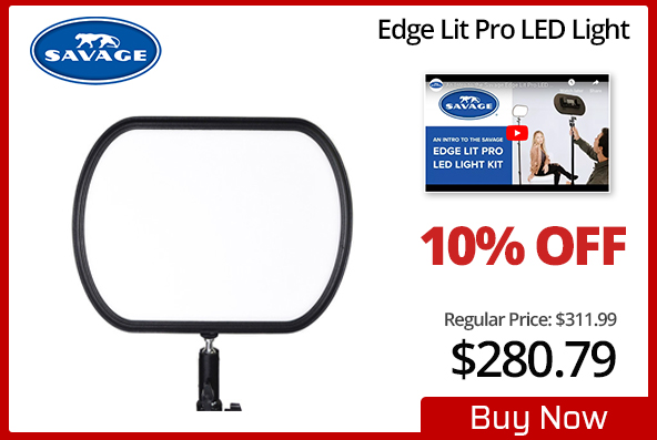 Savage Edge Lit Pro LED Light