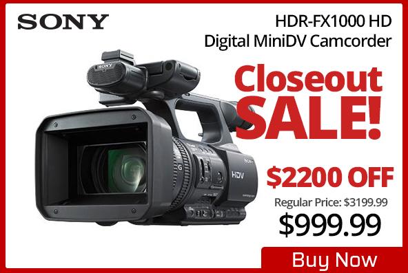Sony HDR-FX1000 HD
