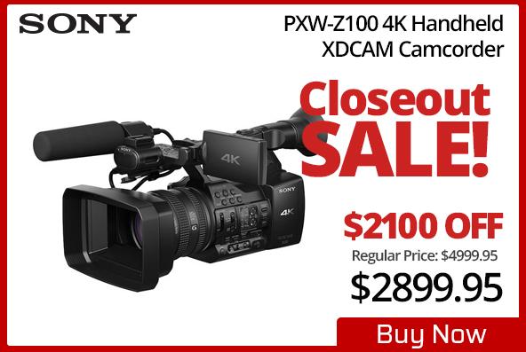 Sony PXW-Z100 4K Handheld Camcorder