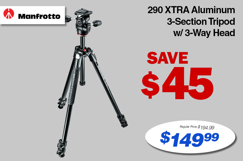 Manfrotto 290 XTRA with Head