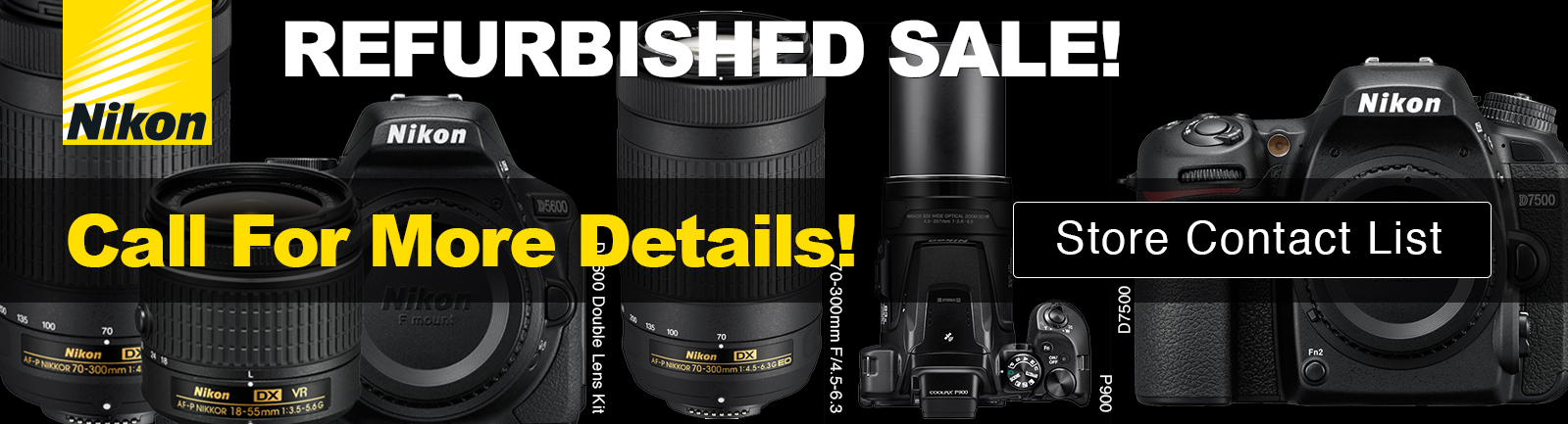 Refurbished & Open Box Specials | Hunt's Photo & Video