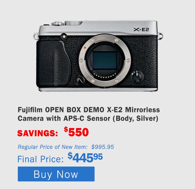 Fujifilm X-E2 Mirrorless