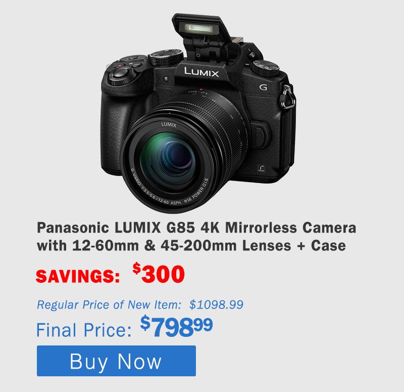 Panasonic G85 4K Mirrorless