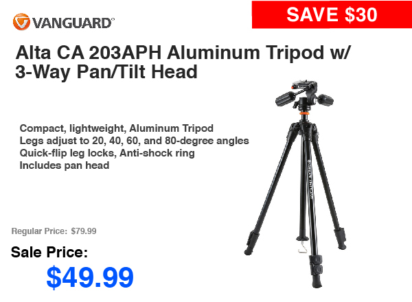 Vanguard Alta CA 203APH Aluminum