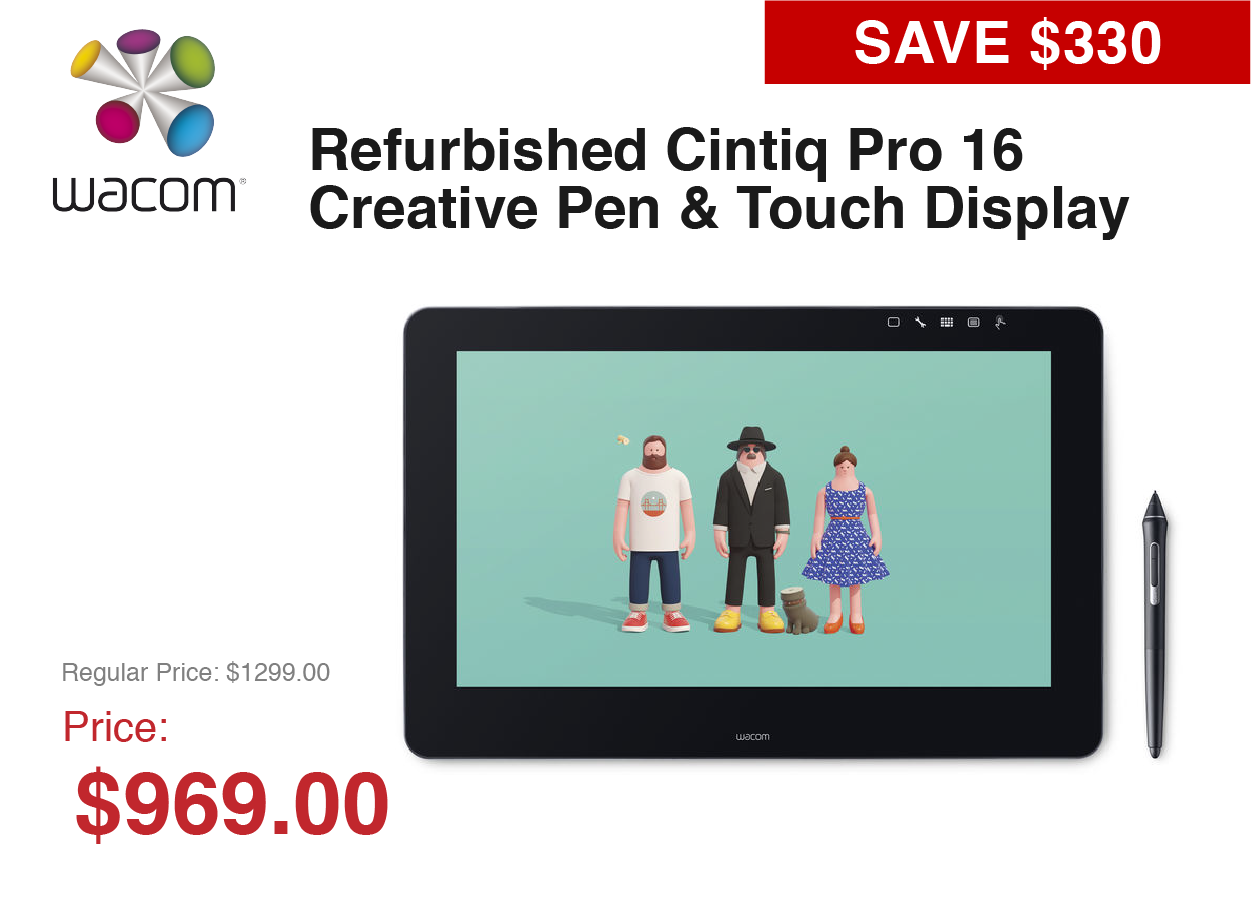 Wacom Tablet Refurbished!