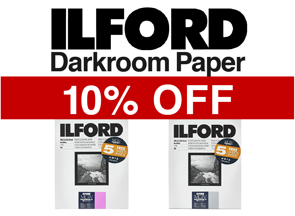 Ilford Darkroom Paper On Sale!
