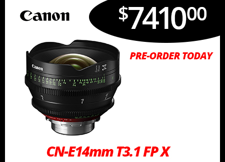 CN-E14mm T3.1 FP X