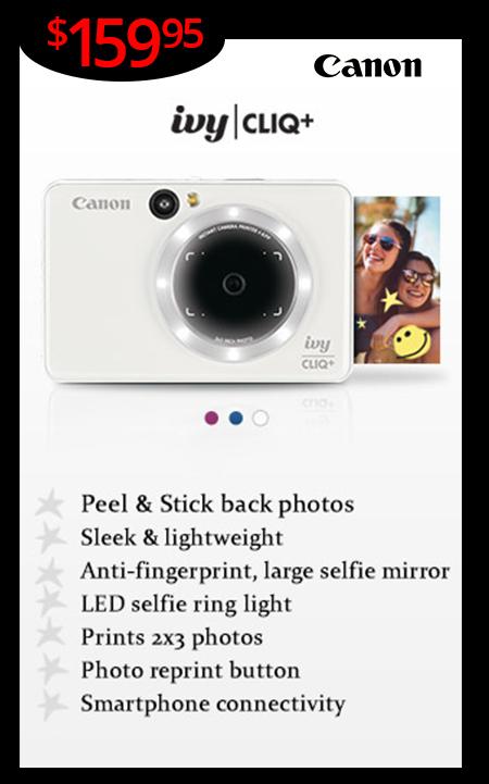New Canon Cliq+