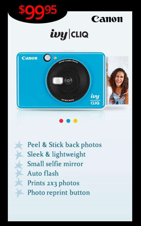 New Canon Cliq