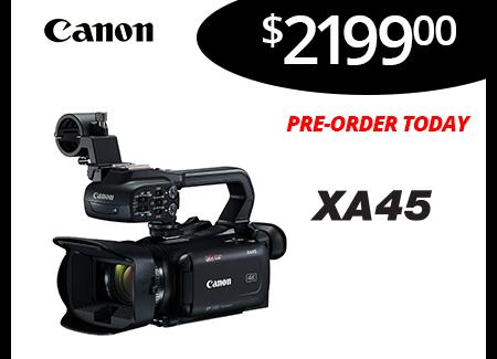 Pre-order XA45 Today