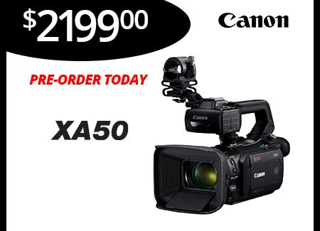 New XA50 Camcorder