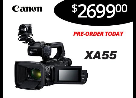 New XA55 Camcorder