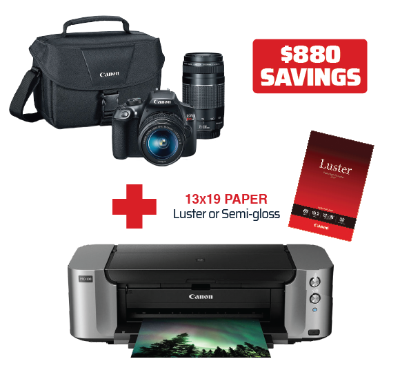 Canon Printer | Camera Bundle Deal
