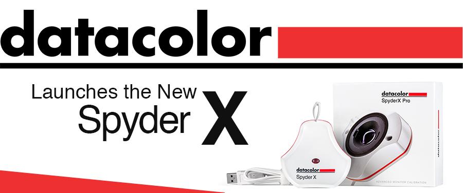 New Datacolor Spyder X