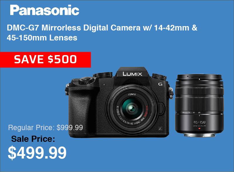 Panasonic G7 2 Lens Kit