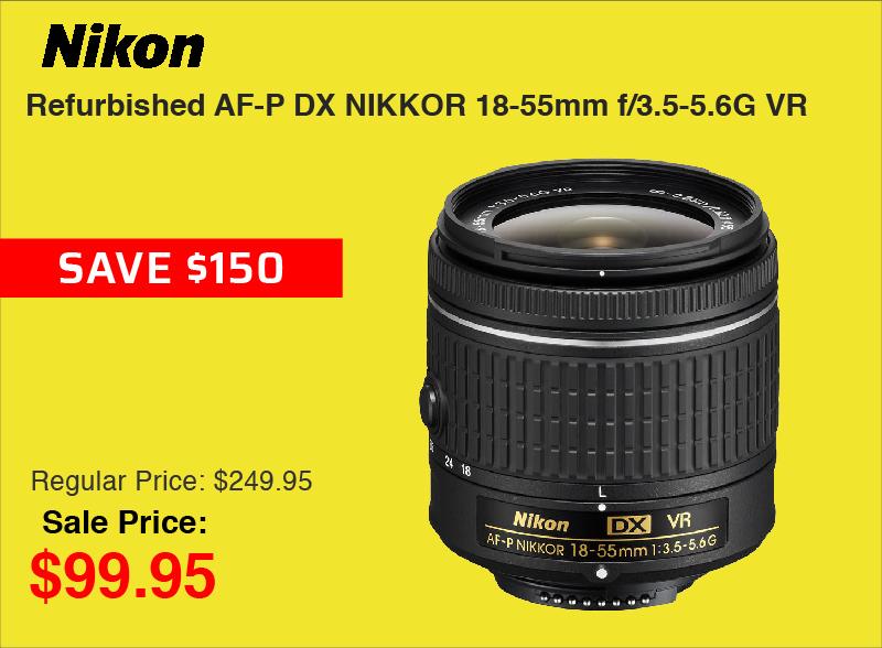 Nikon Refurb 18-55mm