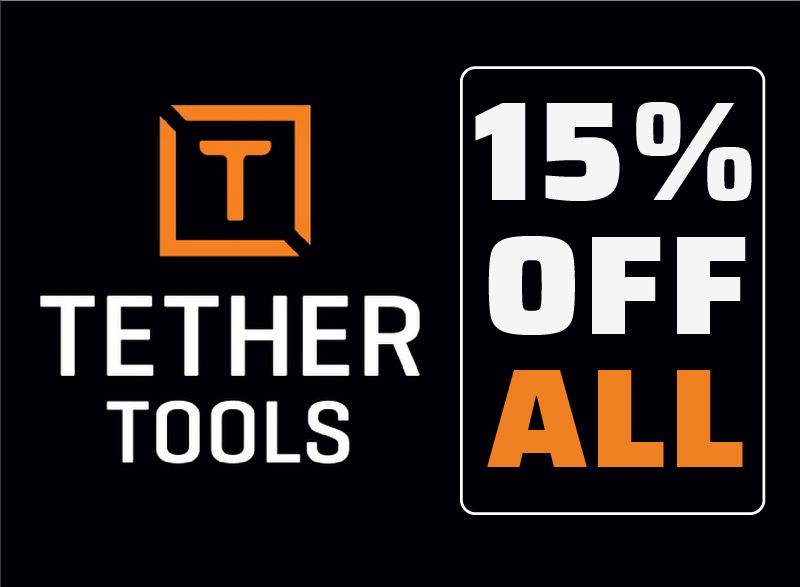 Tether Tools - 15% OFF ALL