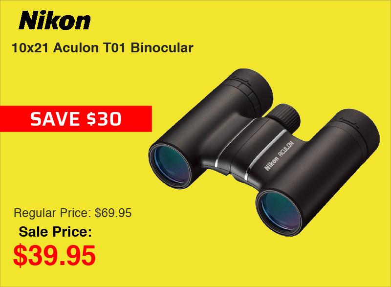 Nikon 10x21 Aculon T01 Binocular