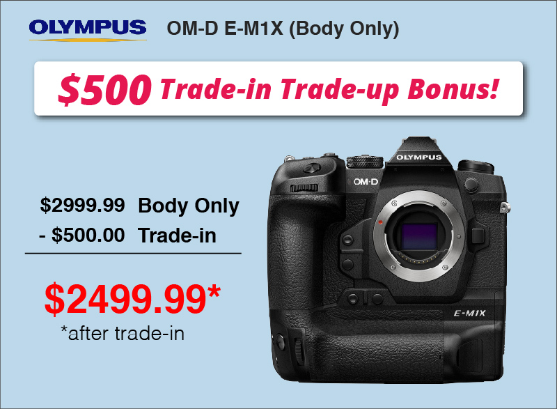 Olympus Om-D E-M1X Body Only