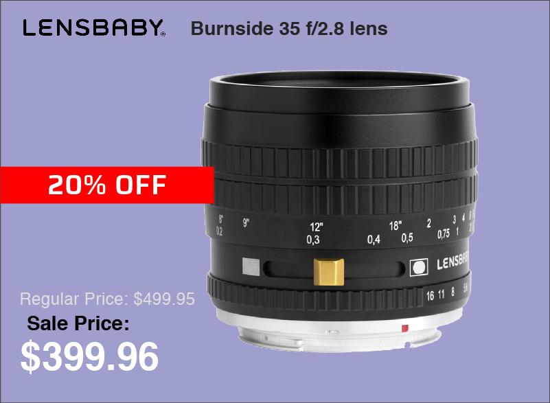 Lensbaby Burnside 35mm