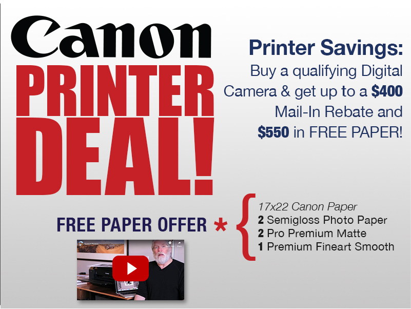 Canon Printer Deal!