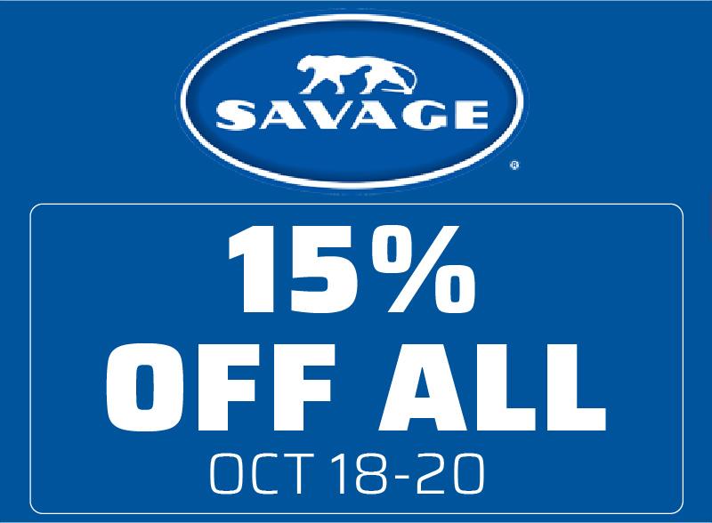 Savage Products on Sale