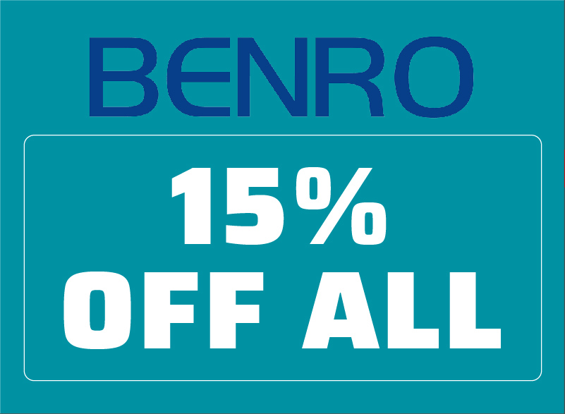 Save on Benro Products