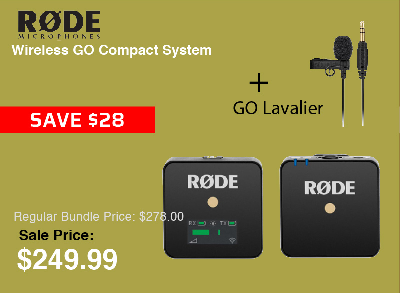 Rode Wireless GO Compact System
