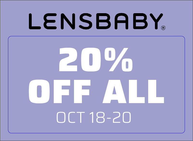 Lensbaby Savings - 3 Days Only