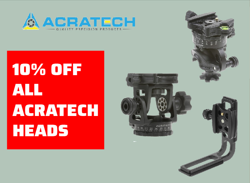 Acratech Heads on Sale
