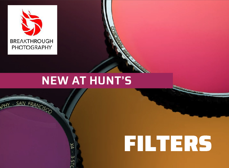 Breakthrough Photography Filters New at Hunt's