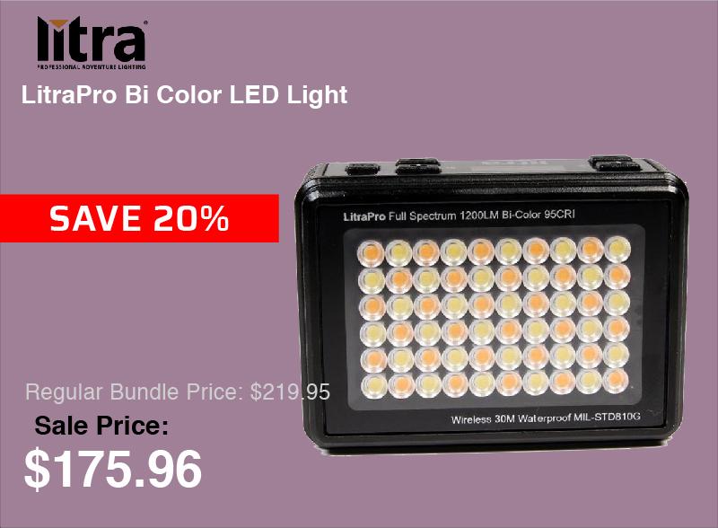 LitraPro Bi Color LED Light