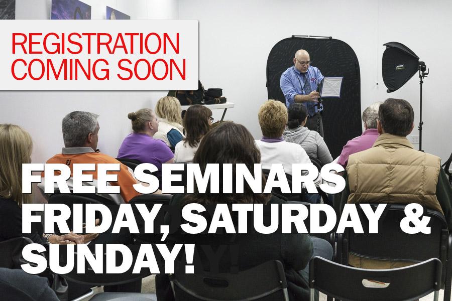Free Seminars Oct 19th & 20th